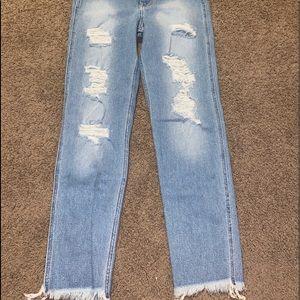 —hollister vintage mom jeans